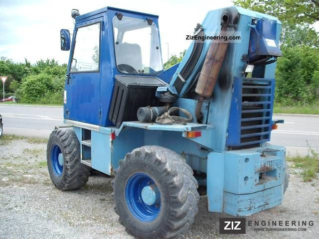 1988 Manitou  MT 430 CP Forklift truck Telescopic photo