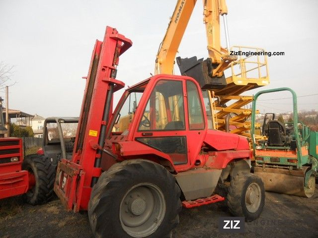 2001 Manitou  M26-4 Forklift truck Rough-terrain forklift truck photo