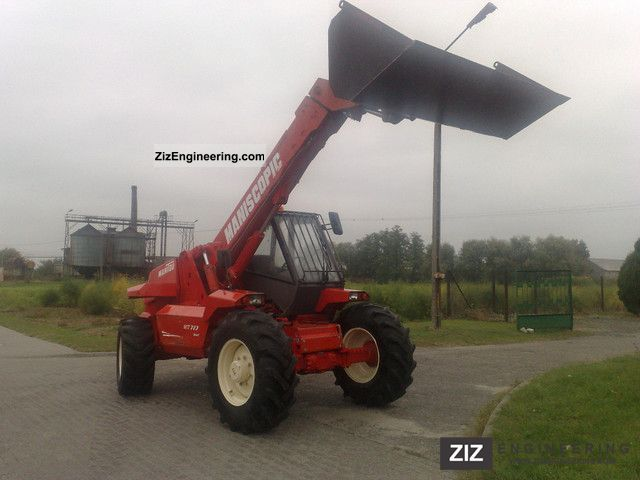 1994 Manitou  727 Forklift truck Reach forklift truck photo