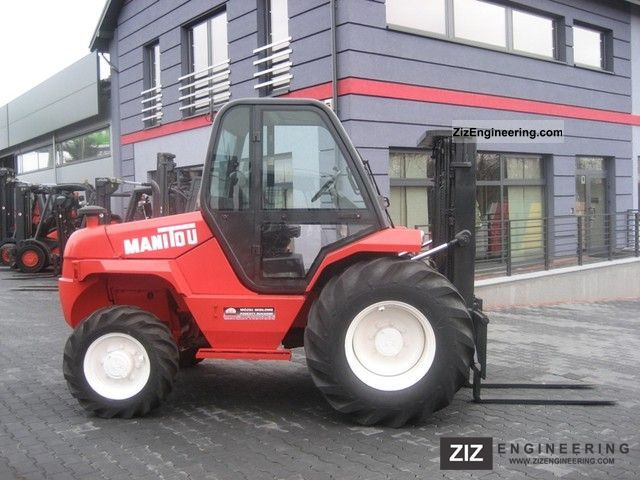 2002 Manitou  M26-4 Forklift truck Rough-terrain forklift truck photo