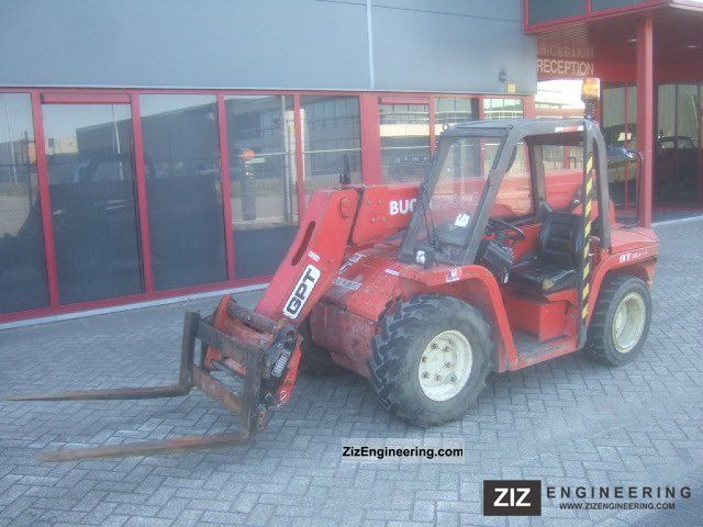 2004 Manitou  Buggiscopic BT420 Telescopic handlers Forklift truck Telescopic photo