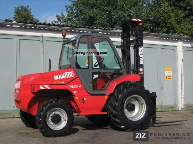2011 Manitou  Terrain forklift Manitou M26-4 4x4 lift height: 5.5m Forklift truck Rough-terrain forklift truck photo