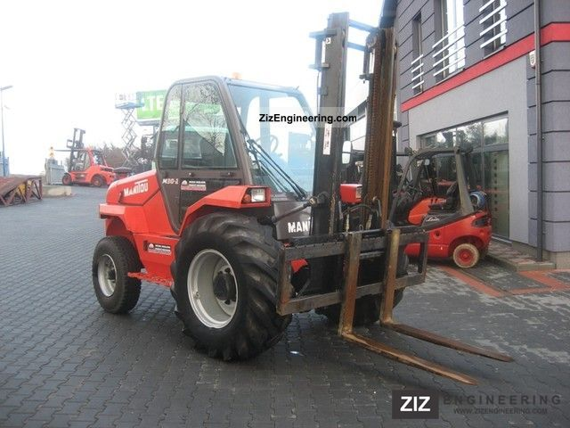 2005 Manitou  M30-2 VERY NICE! Forklift truck Rough-terrain forklift truck photo