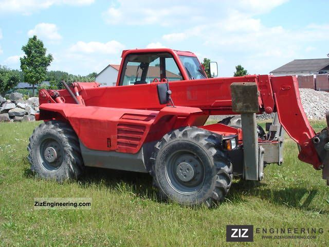 Manitou 1232s 1997 Telescopic Lift Truck Photo And Specs
