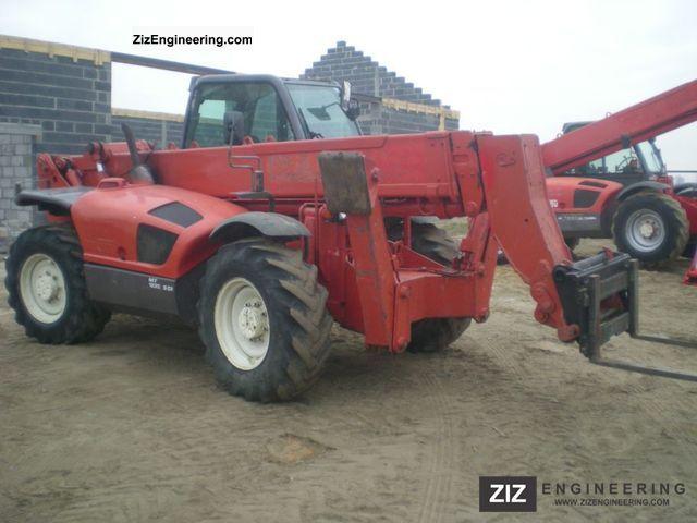 2000 Manitou  1337 JCB CAT Forklift truck Reach forklift truck photo