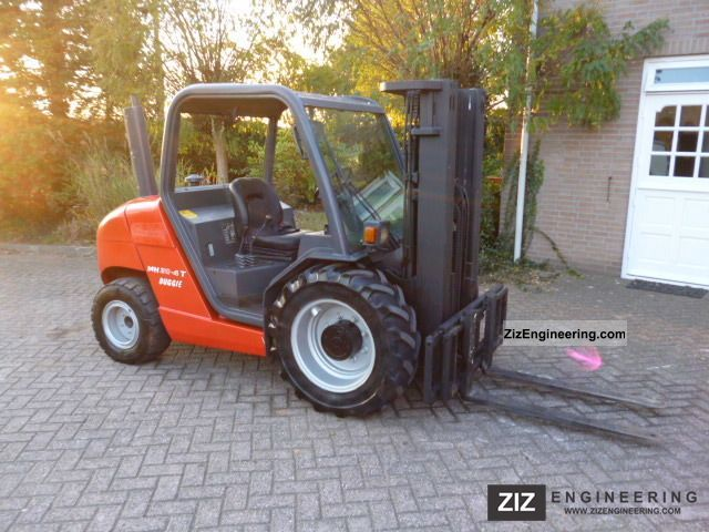 2004 Manitou  MH20-4 T buggie Forklift truck Rough-terrain forklift truck photo