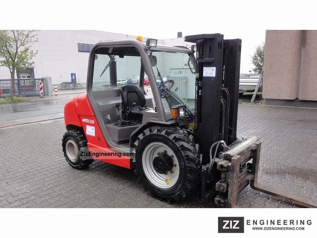 Manitou Msi 25 Buggie 2005 Rough Terrain Forklift Truck Photo And Specs