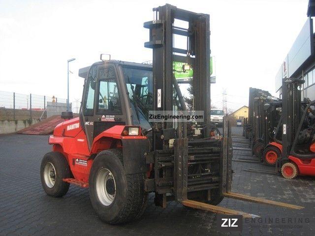 2007 Manitou  MC40 Forklift truck Rough-terrain forklift truck photo