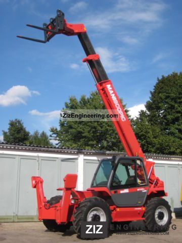 1998 Manitou  MT 1232 ST TURBO - 4x4x4 - 12m / 3.2t. Forklift truck Rough-terrain forklift truck photo
