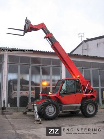 1999 Manitou  Telescopic MANITOU MT 1232 S 4x4x4 - 12m Forklift truck Rough-terrain forklift truck photo