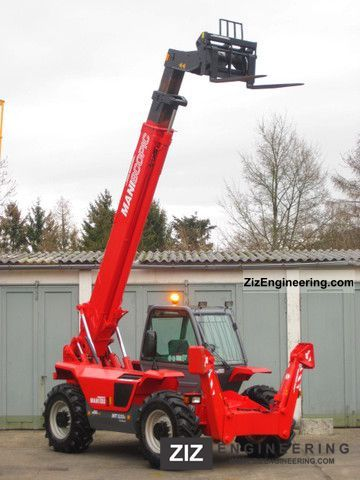 1997 Manitou  MANITOU MT 1232 S 4x4x4 - 12m / 3.2t. Forklift truck Rough-terrain forklift truck photo