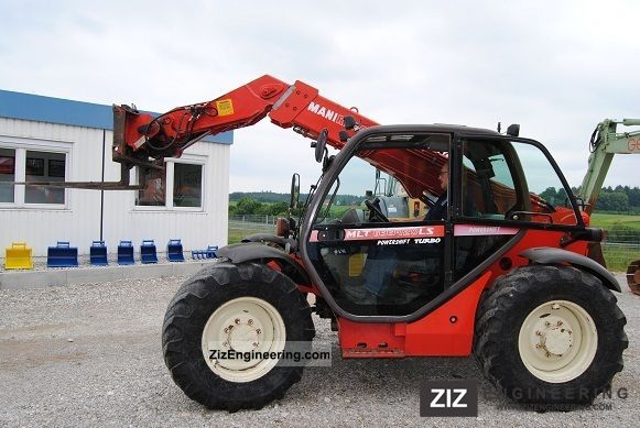 2003 Manitou  633-120 Forklift truck Telescopic photo