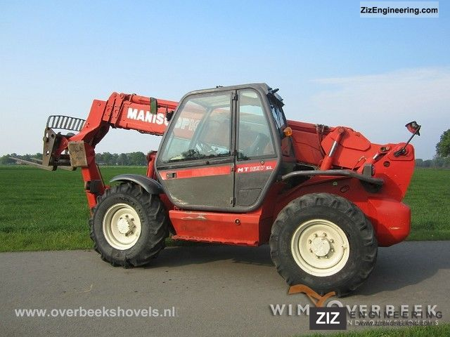 Manitou Mt1637 Sl  Sway  2001 Telescopic Lift Truck Photo And Specs