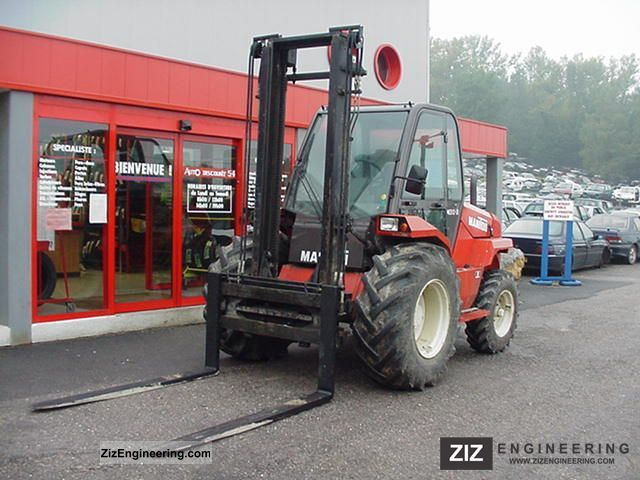 2011 Manitou  M 30.2 Forklift truck Front-mounted forklift truck photo