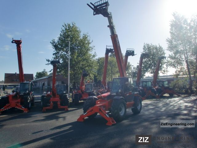 2006 Manitou  1235 S Year 2006 12 METRES!! Forklift truck Telescopic photo