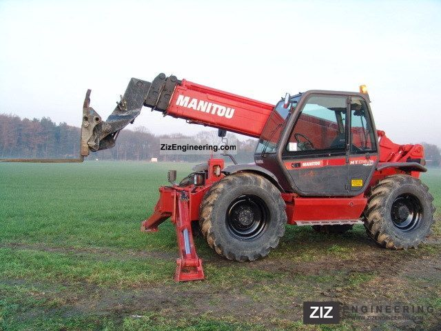 2006 Manitou  MT1740 2179 hours Forklift truck Telescopic photo