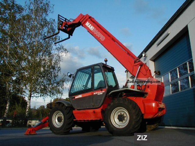 2004 Manitou  Telehandler MT 1740 SLT Turbo 4x4x4 TO Forklift truck Rough-terrain forklift truck photo