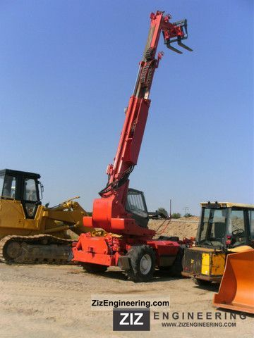1996 Manitou  MRI 1540 Forklift truck Telescopic photo