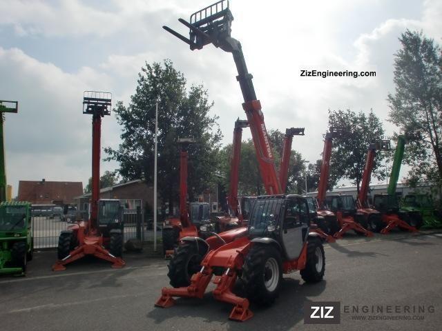 2008 Manitou  1030 S Year 2008! 10 METRES! Forklift truck Telescopic photo