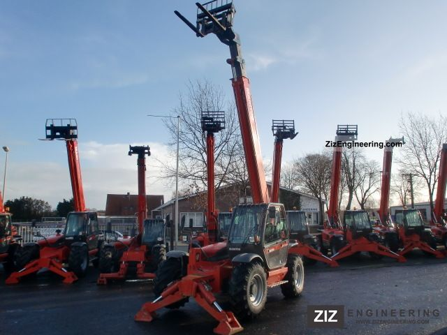 2007 Manitou  1435 SL Year 2007! Forklift truck Telescopic photo