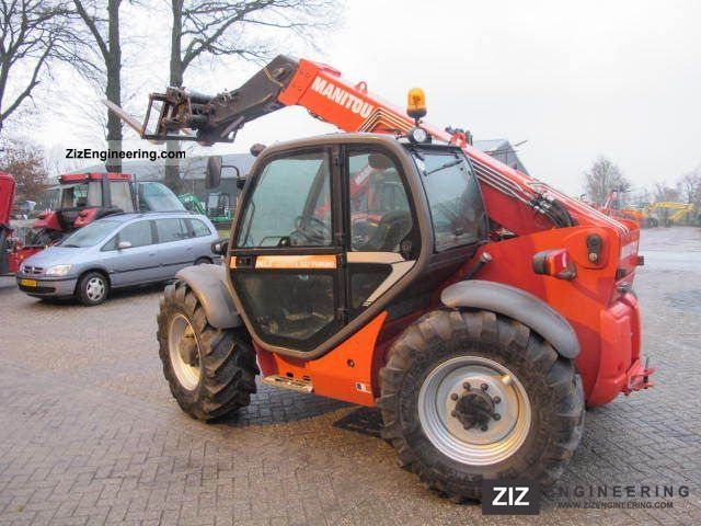 2008 Manitou  LSU 634 Turbo Forklift truck Telescopic photo