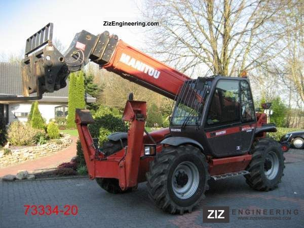 2006 Manitou  MT 1740 SLT ULTRA Forklift truck Telescopic photo