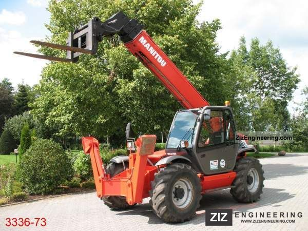 2006 Manitou  MT 1740 SLT Forklift truck Telescopic photo