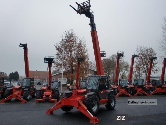 2007 Manitou  1440 SL TURBO! 2007, 4 TONS!! Forklift truck Telescopic photo
