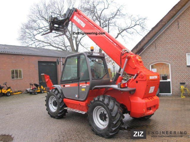 2006 Manitou  1740 Forklift truck Telescopic photo