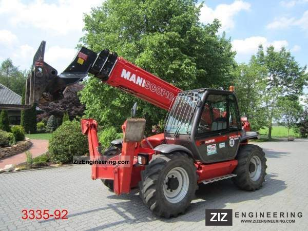 2007 Manitou  MT 1740 SLT ULTRA Forklift truck Telescopic photo