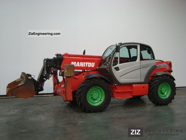 2008 Manitou  MT1840 PRIVILEGE Forklift truck Telescopic photo