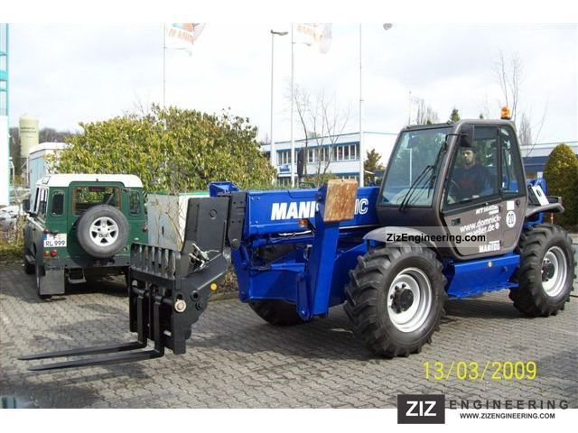 2007 Manitou  MT 1440 SLT Forklift truck Telescopic photo