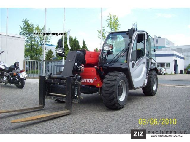 2010 Manitou  MT625 T Forklift truck Telescopic photo