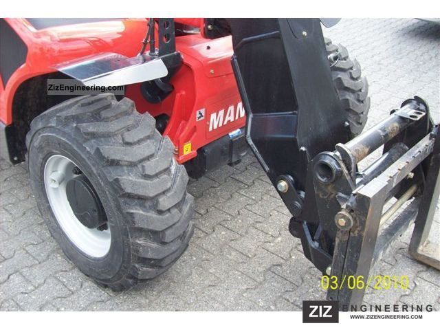 Manitou MT625 T 2010 Telescopic Lift Truck Photo and Specs