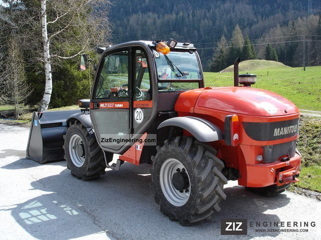 2005 Manitou  MLT 627 Forklift truck Telescopic photo
