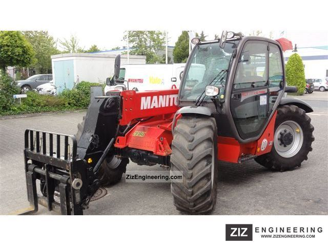 2008 Manitou  MLT 731 T LSU Agri Forklift truck Telescopic photo