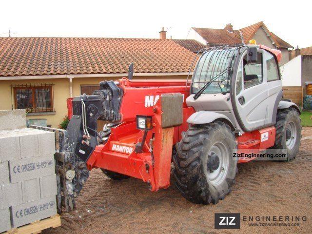 2011 Manitou  1840 Privilege Forklift truck Telescopic photo