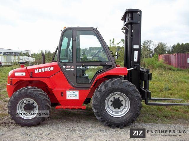 2011 Manitou  M50.4 Forklift truck Rough-terrain forklift truck photo