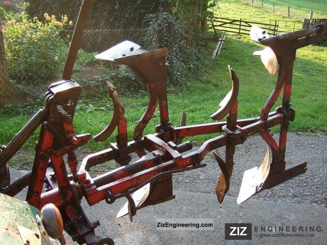 Massey Ferguson 2 Furrow Plow Full Speed 2011 Agricultural