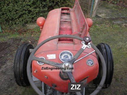 massey ferguson fe 35 petrol 1956 agricultural tractor. Black Bedroom Furniture Sets. Home Design Ideas
