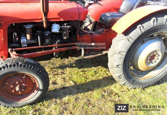 1962 Massey Ferguson Mf 35 : Massey ferguson mf agricultural tractor photo and specs