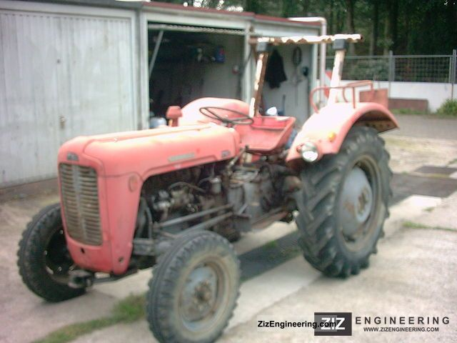 1959 Massey Ferguson  FE 35 Agricultural vehicle Tractor photo