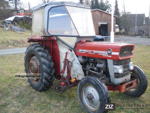 massey ferguson 152 1976 agricultural tractor photo and specs. Black Bedroom Furniture Sets. Home Design Ideas
