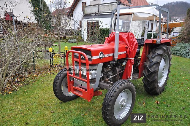 1973 Massey Ferguson 135 : Tractor agricultural vehicle commercial vehicles with