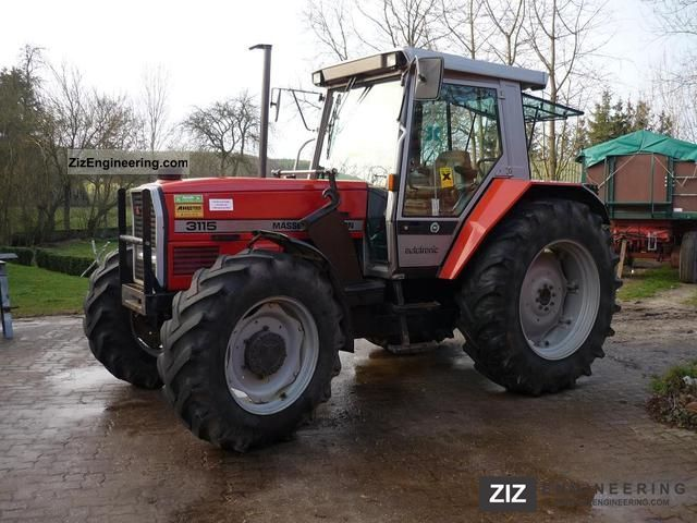 1992 Massey Ferguson  3115 Agricultural vehicle Tractor photo