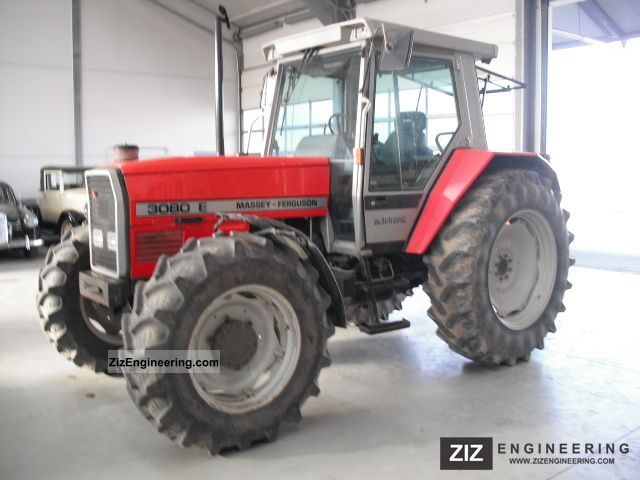 1992 Massey Ferguson  3080 E 4x4 cab Tüv AHK 01/2014 Agricultural vehicle Tractor photo