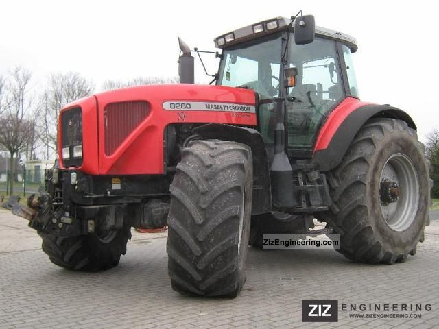 Massey Ferguson Mf 8280 Xtra 2002 Agricultural Tractor