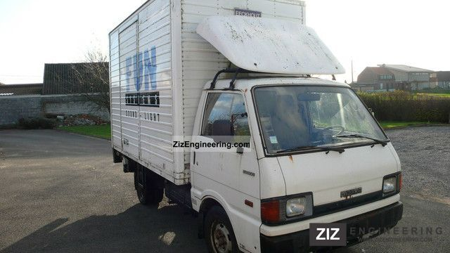 1992 Mazda  E 2200 CASE LADEBORDWAND Van or truck up to 7.5t Box photo