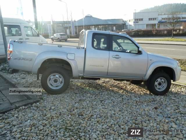 2011 Mazda  BT-50 L-Cab 4x4 2.5l Diesel Midlands (climate, frequency Van or truck up to 7.5t Stake body photo