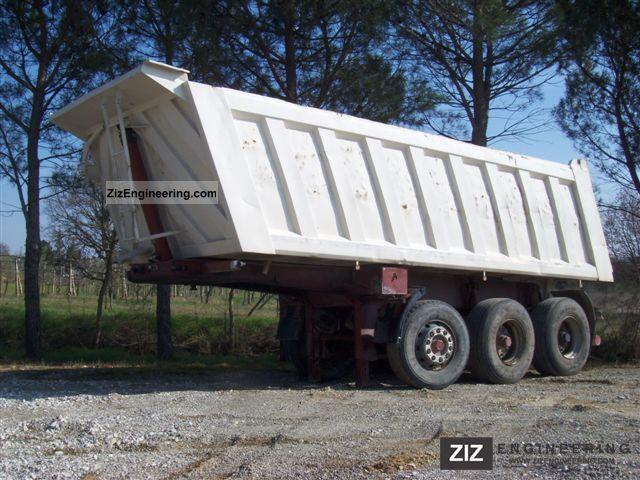 1995 Menci  Minerva € Strada Semi-trailer Tipper photo